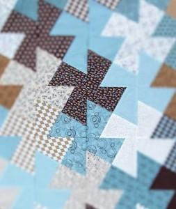 Sky Blue Pinwheels