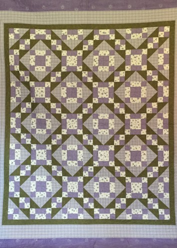 """85 x 96"""" $800 Freehand long-arm panto quilted"""